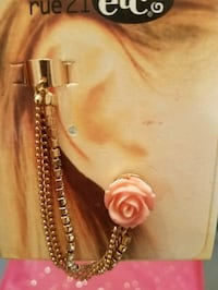 2 Rose Ear Cuffs St. Louis, 63109