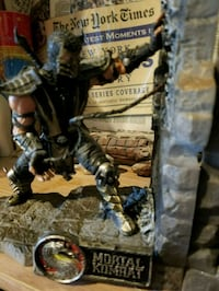 Mortal Kombat Collectors Edition Bookends  South Riding, 20152