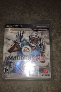 Madden 13 for ps3 Leesburg, 20176