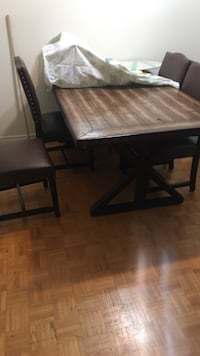 Dining table and chairs  Toronto, M9V 2C6