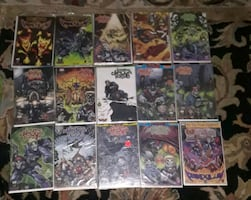 THE PENDULUM ICP COMICBOOK COLLECTION MINT CONDITION.