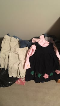 Kids assorted clothes