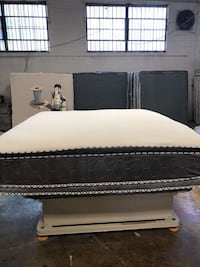King double sided pillow top set