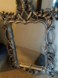 Large Gothic antique-looking mirror Spring, 77386