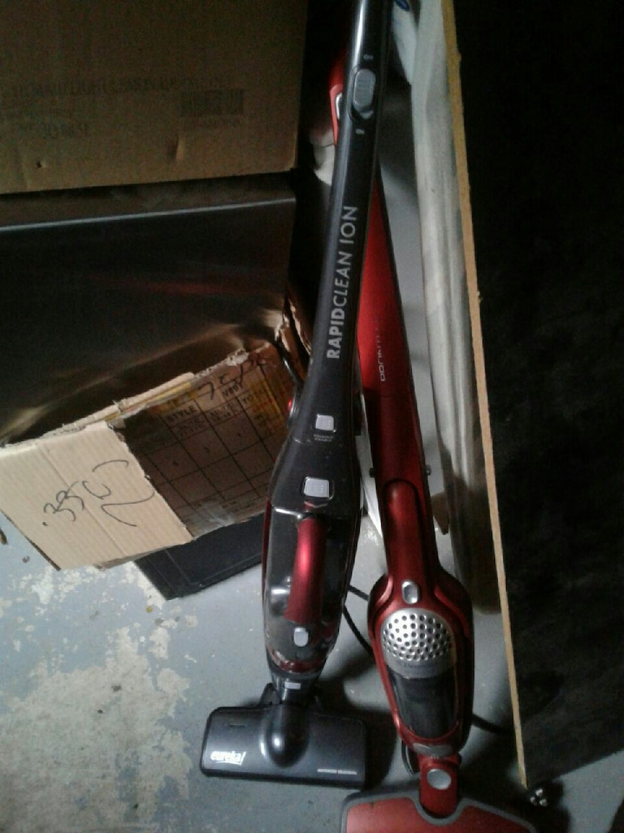 red and black stick vacuum cleaners for sale  Pickering