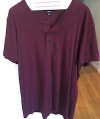 Vince Camuto Three Button Henley Men's Size XL Los Angeles, 90064
