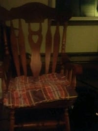 brown wooden rocking chair Horseheads, 14845