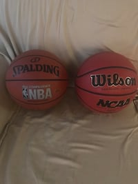 Two basketballs never used