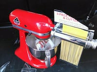 Kitchen aid stand mixer and attachment Burnaby, V3N 4M8