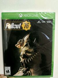 NEW Fallout 76 for XBox One Franklin Township, 08873