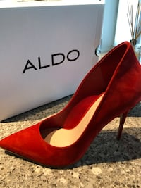 Also red Cassidy heels. Mint. Size 9 Toronto, M5A