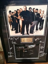 Signed sopranos cast photo