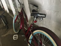 Needs tires repaired or replaced tube.