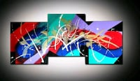 Beautiful Abstract 3 Piece Painting Set Toronto, M3C 1G2