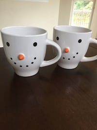 Snowman Mugs Middletown, 19709