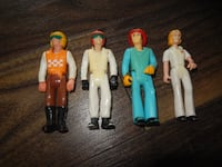 "*Vintage* Fisher Price (Late 70s/early-mid 80s)  ""Adventure People"" (x4)  Morinville"