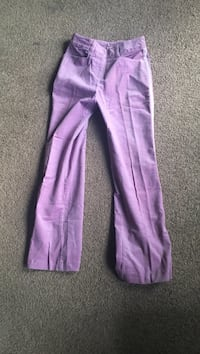Girls Purple suede pants Eastsound, 98245