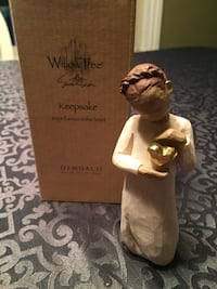 REDUCED~New  Willow Tree Heart of Gold Keepsake Figurine
