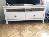 White Wood TV Stand  Los Angeles, 90036