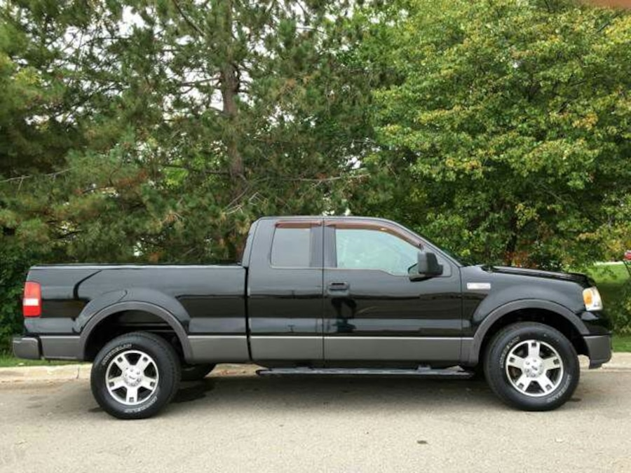 used low mileage 2005 ford f150 in augusta. Black Bedroom Furniture Sets. Home Design Ideas