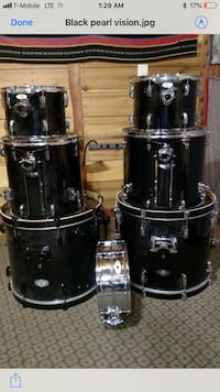 8pc Black Pearl Vision SST double bass Houston, 77027