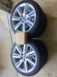 2011 Volvo S60 T6 used Rims with mounted tires (235/40R18) Bowie, 20720