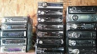 Pre owned car stereos.
