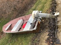 12 foot boat and 15 hp outboard
