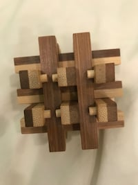 Wood Assembly Puzzle