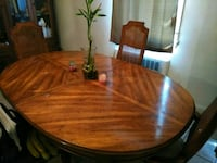 Dining room table, China cabinet, and storage serv 21207, 21207