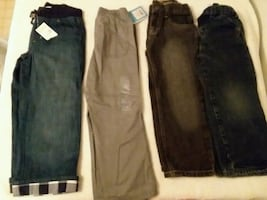 Boys 4T pants bundle