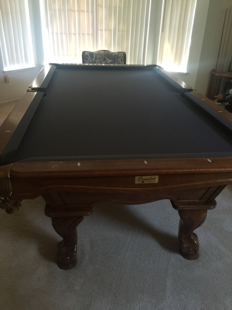 Camelot Pool Table