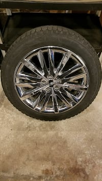 """Lincoln MKX wheels/tires 20"""" set of 4"""