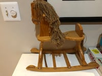 Brown wooden rocking horse toy Mc Lean, 22102