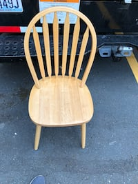 brown wooden windsor rocking chair Seattle, 98119