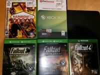 Games for Xbox one s.  Basically new.  Group1.  Round Rock, 78664