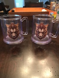 Harry Potter Hard Plastic Mugs