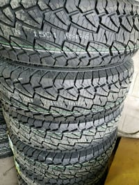 Tires lt 245/75r16 new with stickers