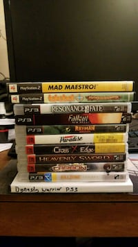 PS3 + PS2 Games Alhambra