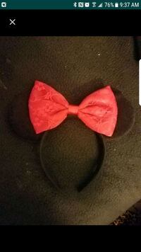 Red lace bow disney minnie ears  Monrovia, 91016
