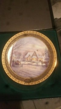 Thomas Kinkade collectible plate Taylor, 48180