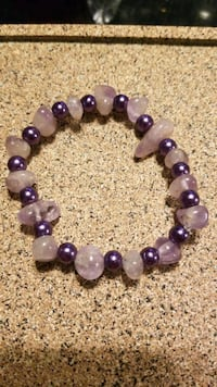 handmade purple bracelet  Essex, 21221
