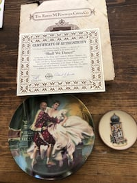 Home decor king and I knowles collectors plate and small plate Georgetown, L7G 6M7