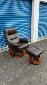 Reclining Chair with Storage Ottoman Phoenix, 85023