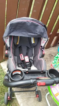baby's black and gray stroller Leesburg