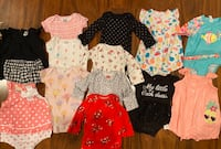 Size 3m baby girl spring lot