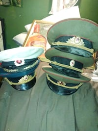Russin military dress hats real good condition Edmonton