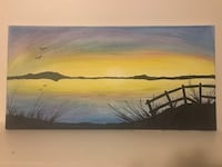 Beautiful hand painted canvases  Greensboro, 27410