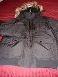 new roca wear winter coat size large with tags still there