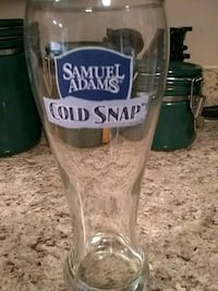 Samuel Adams beer glass Hagerstown, 21740